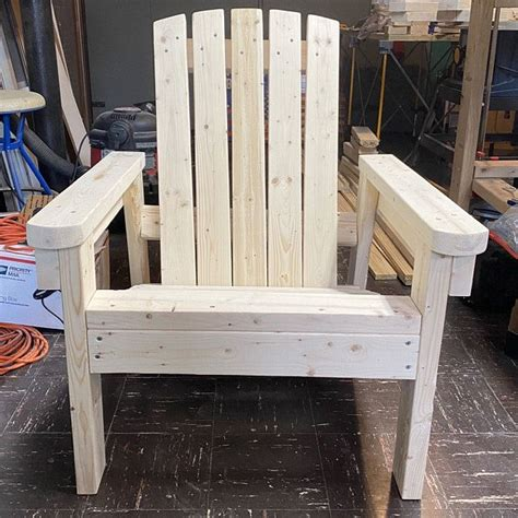 Easy diy adirondack chair plans Image