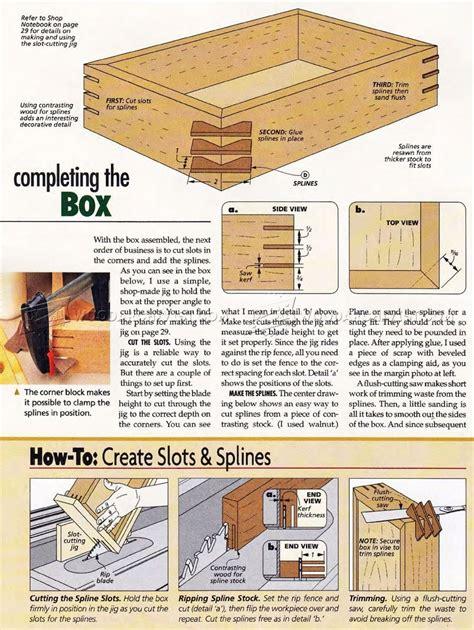 Easy keepsake box plans Image
