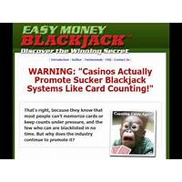 Easy money blackjack system discover the winning secret! methods