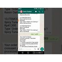 Ebook pdf develop whatsapp chatbot for food and beverages promotional codes
