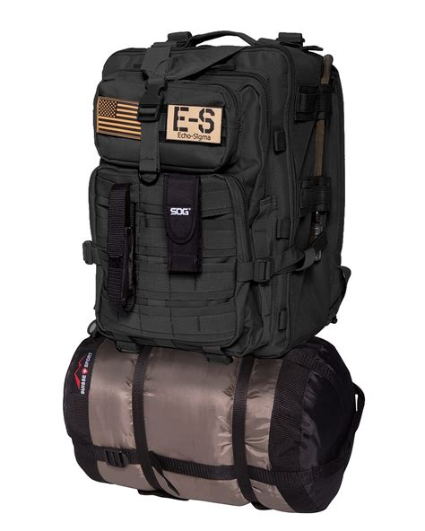 Echosigma Emergency Systems Bug Out Bag Bug Out Bagblack