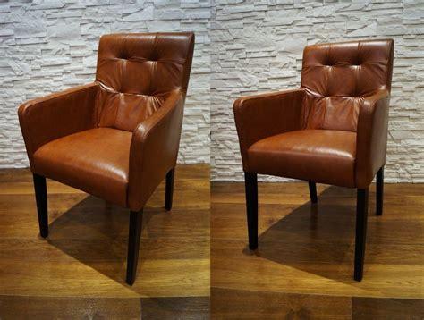 Echtleder Stühle Esszimmer