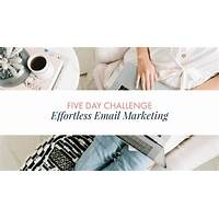Effortless email promo