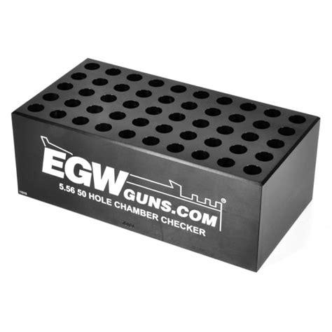 Egw 5 56mm Nato 50hole Cartridge Checker Brownells Se And Pistol Caliber Case Gauge Chamber Checker Case Gauge