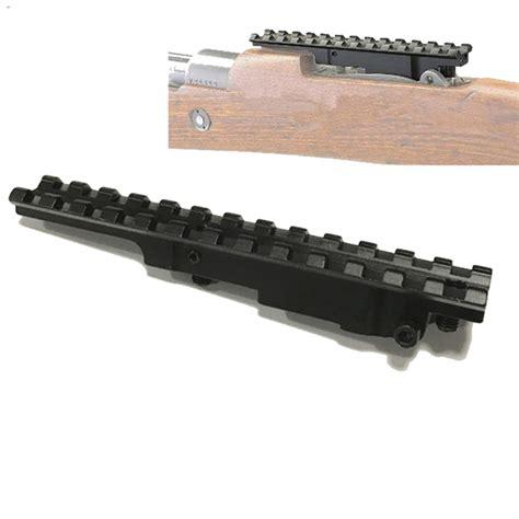 EGW Mauser 98 Picatinny Rail Scope Mount - Large Ring