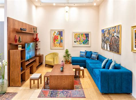Egyptian Themed Living Room