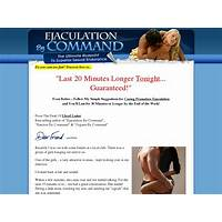 Buying ejaculation by command: hot offer for lasting longer in bed