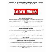 El tao del seductor spanish version of