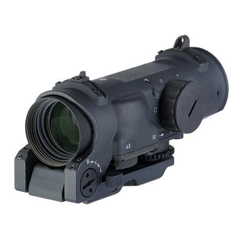Elcan Specterdr Dual Role Combat Sight 1x4x 762 Cr5396 Reticle 1x4x32mm 762 Cx5396 Ballistic Fde