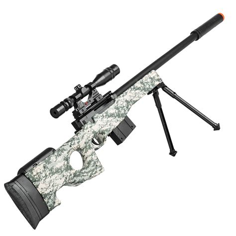 Rifle-Scopes Electric Airsoft Sniper Rifles With Scope.