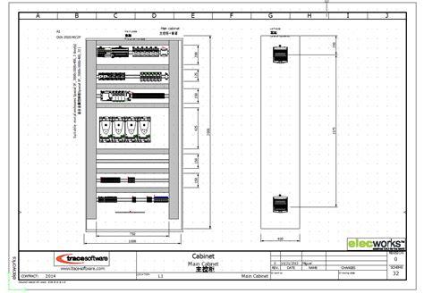 Electrical cabinet design software Image