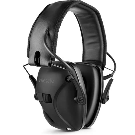 Electronic Shooting Ear Muffs Superior Hearing Protection