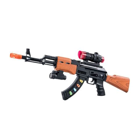 Rifle-Scopes Electronic Super Nerf Sniper Rifle With Scope.