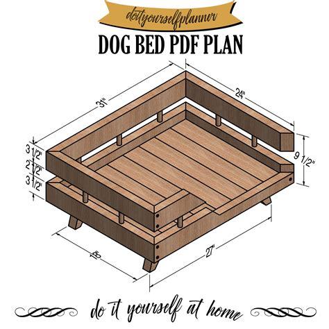 Elevated dog bed plans Image