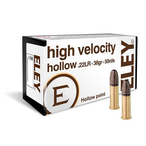 Eley High Velocity 22 Ammo
