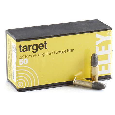 Eley Target Ammunition 22 Long Rifle Manufacture