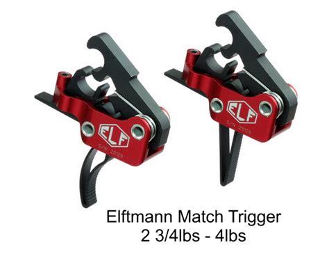 Elf Ar15 Match Dropin Trigger Modular High Performance