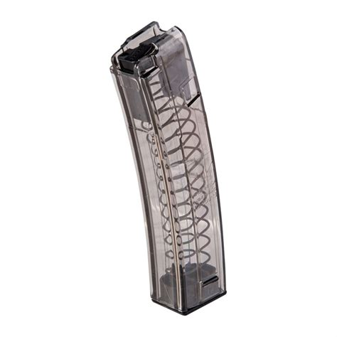 Elite Tactical Systems Group Hk Mp5 9mm Magazines Hk Mp5 Magazine 9mm 40rd Polymer Translucent