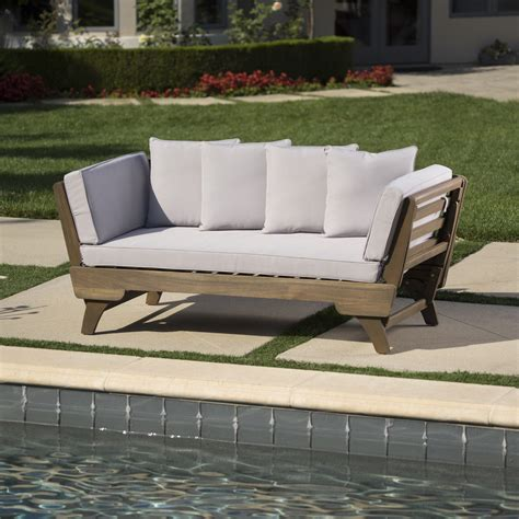 Ellanti Patio Daybed with Cushions