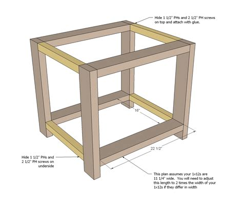 End Table Plans Simple Shed Designs