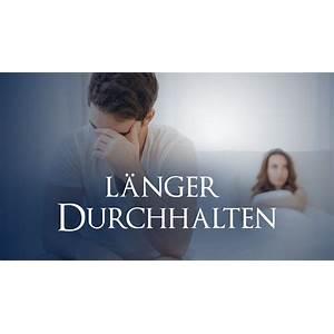 Endlich l?nger durchhalten! ejakuformel is it real?