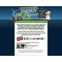 Energy2green wind and solar power system *#1 home energy program secret codes