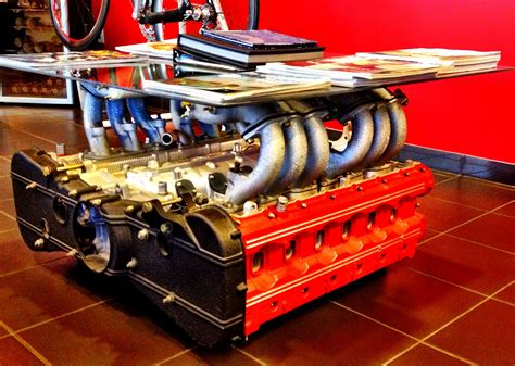 Engine Block Coffee Table Plans