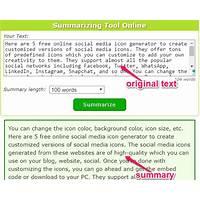 Cash back for english simplifying & summarizing tool using basic english