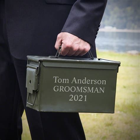 Engraved Ammo Can And Harbor Freight Metal Ammo Can