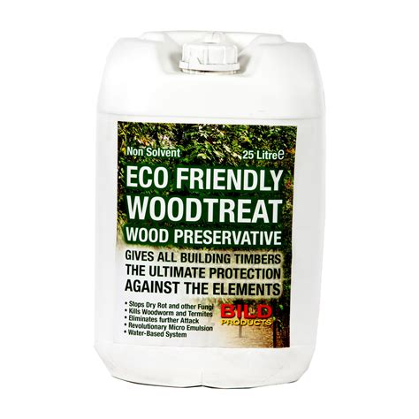 Environmentally friendly wood preservative Image
