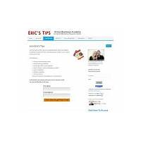 Eric's tips internet marketing newsletter over 80,000 subscribers! discounts