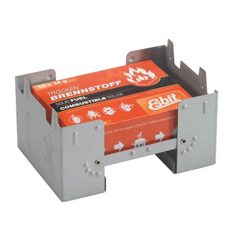 Esbit Pocket Stove With Fuel Large Pocket Stove With Fuel