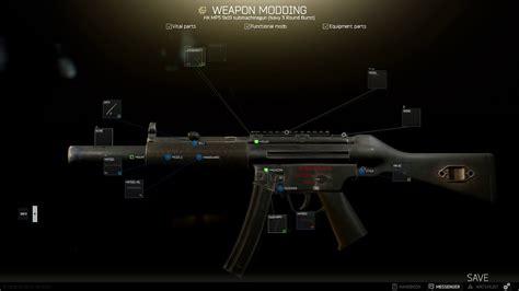 Escape From Tarkov Mp5 Sd Modding