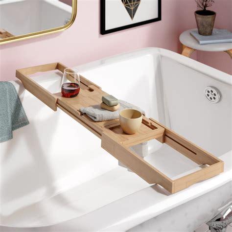 Eshleman Bamboo Bathtub Caddy