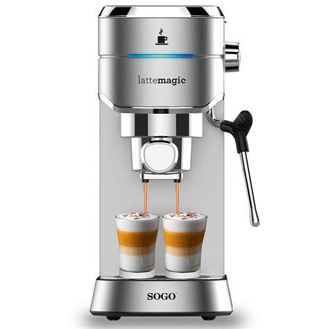Espressomachine 15 Bar Van Sogo Huis Interieur Huis Interieur 2018 [thecoolkids.us]