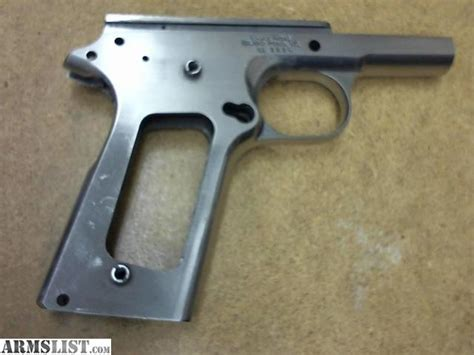 Essex Stinless Steel 1911 Frame Not Stainless