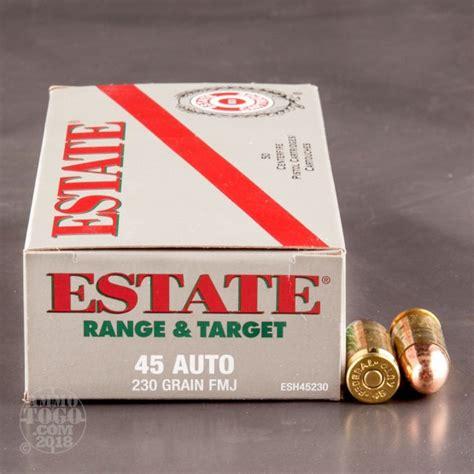 Estate Ammo 45 Acp