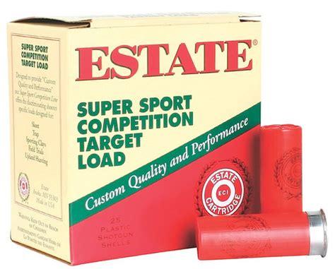 Estate Super Sport Target 12 Ga 2 3 4 1 Oz 7 1 2 Lead Sh