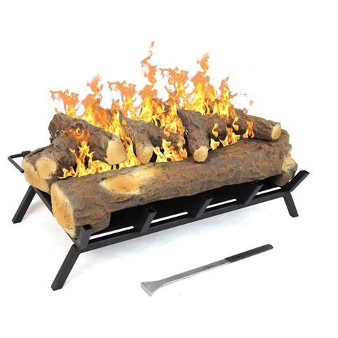 Ethanol Fireplace Log Set