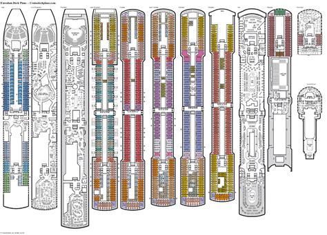 Eurodam deck plan Image