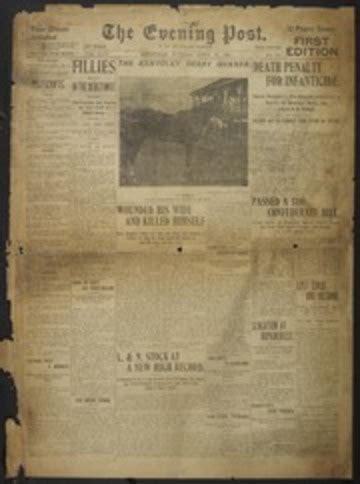 Evening Post Louisville Ky 1893 19010430