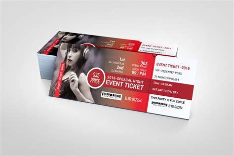 Event Ticket Design Template CV Templates Download Free CV Templates [optimizareseo.online]