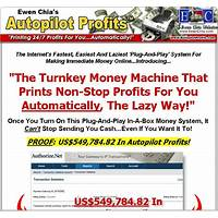 Coupon for ewen chia autopilot profits system!