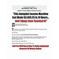 Ewen chia's autopilot profits 2016 your online atm machine! online coupon