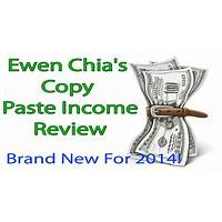 Ewen chia's copy paste income brand new for 2015! coupon codes