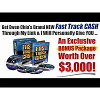 Ewen chia's fast track cash! immediately