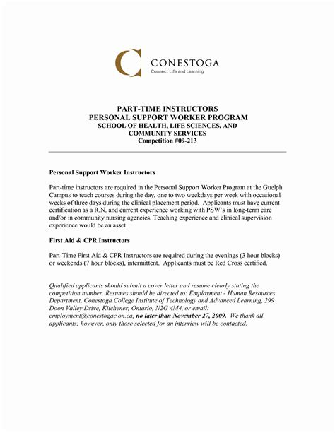 Example Cover Letter Youth Worker | Complaint Letter Sample ...