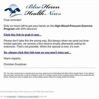 Exercises to completely cure snoring! blue heron health news online coupon
