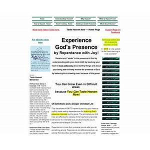 Experience god! receive god's presence by repentance with joy! secret code