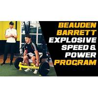 Explosive speed training program tips